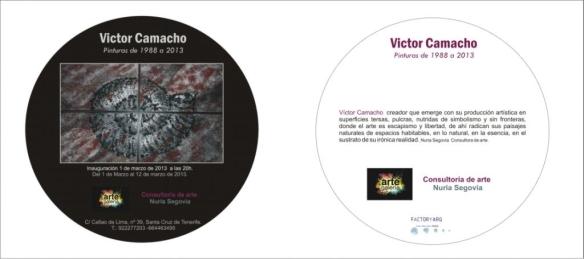 Exposición del artista Victor Camacho